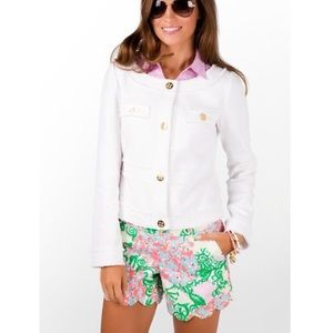 Lilly Pulitzer Millie Jacket in White